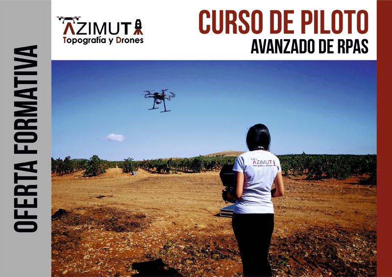 Curso de Piloto Avanzado de Drones RPAS
